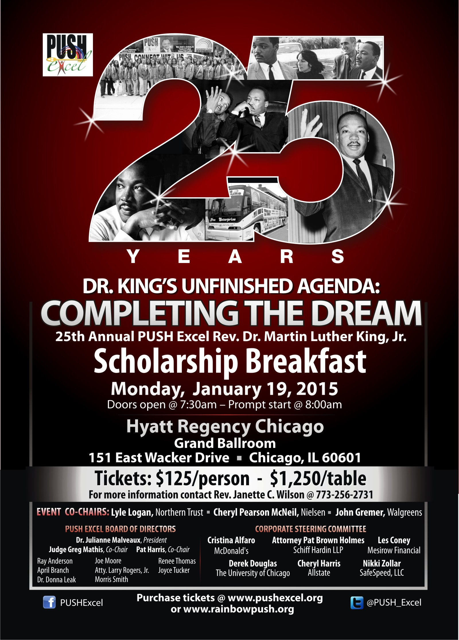 REVISED PUSH Excel Dr. MLK Breakfast eBlast